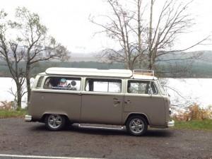 Fergus at Loch Morlich