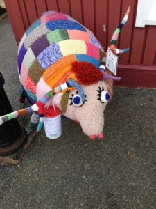 Friendly sheep at Braemar