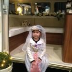 small bride in VW