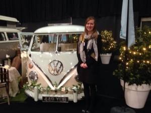 Sarah bride who booked wedding VW
