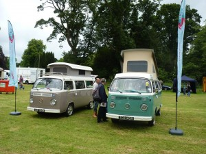 Deeside Classic Campers VW at steam rally Castle Fraser (2)