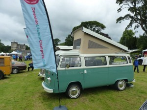Deeside Classic Campers VW at steam rally Castle Fraser