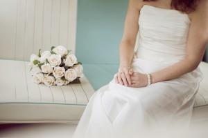 VW Bride bouquet Raemoir House Hotel