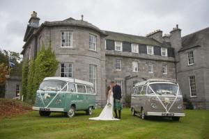VW Wedding Deeside Classic Campers at Raemoir House Hotel (2)