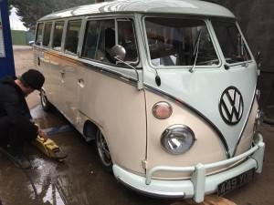 split screen VW camper bus DCC