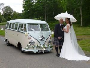 Bride & Groom ANGUS VW