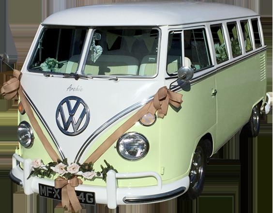Wedding Campervan Aberdeenshire