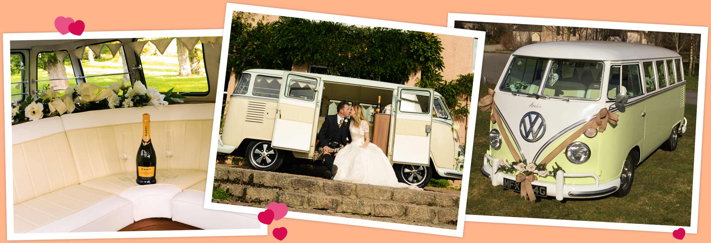 Wedding Campervan Aberdeen