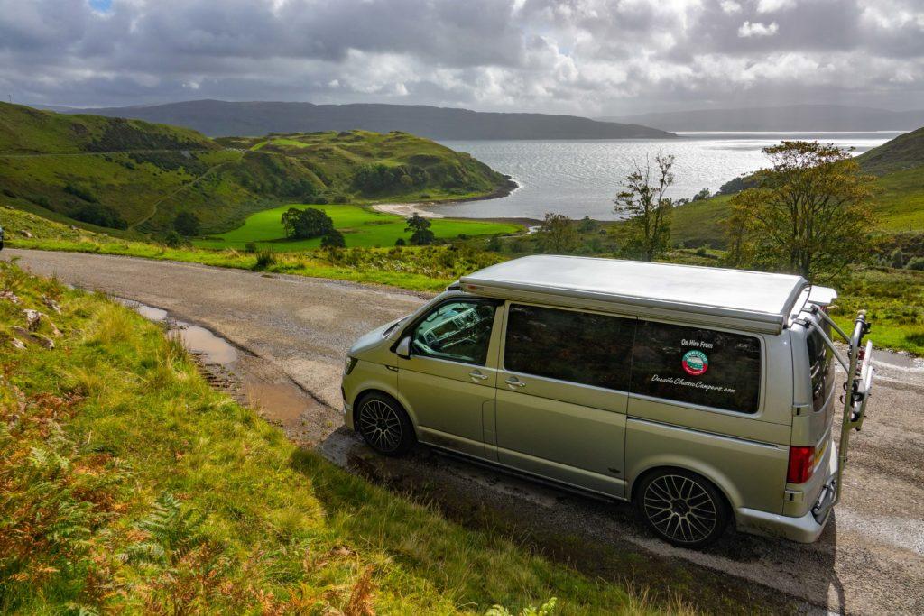 VW T6 campervan hire NC500