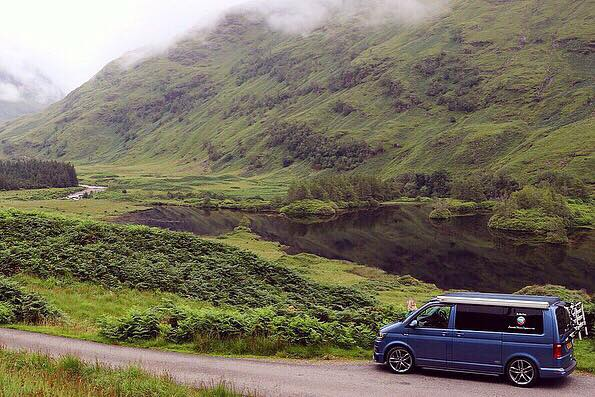 Touring Scotland in a campervan NC500