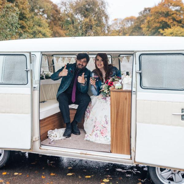 Angus VW Wedding Camper Duthie Park, Aberdeenshire