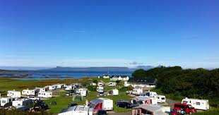 campervan holiday in Scotland camping by the sea Deeside Classic Campers