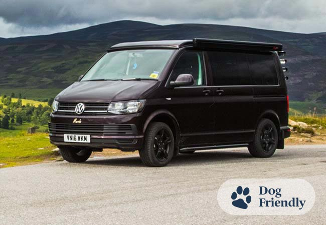 Murdo Campervan Hire Scotland