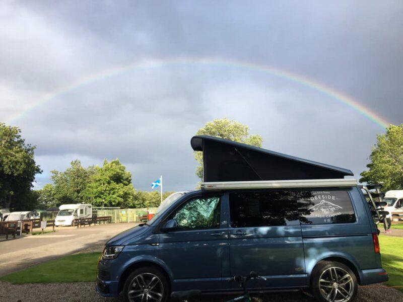 Harris VW T6 blue campervan