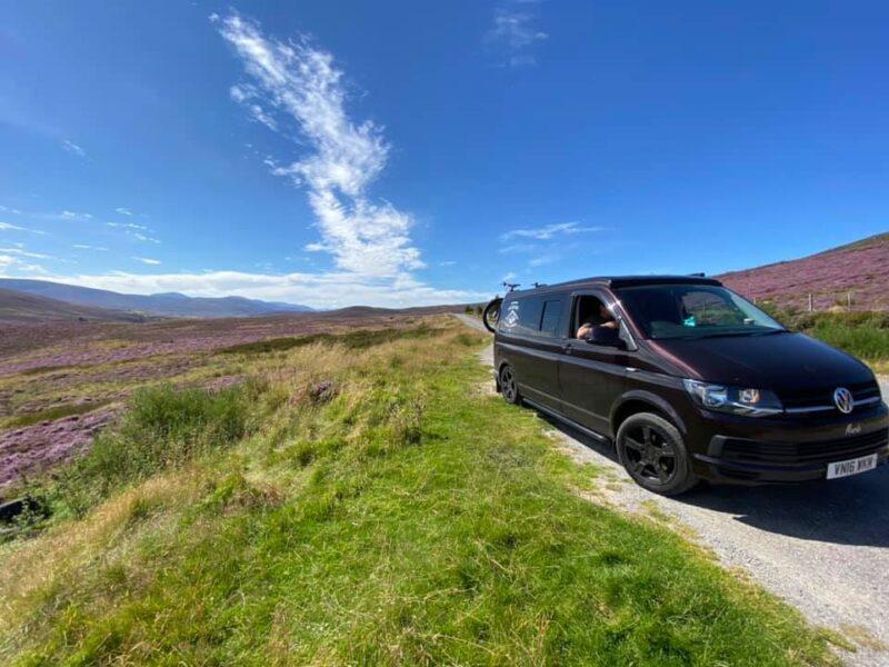 Murdo T6 VW Campervan Hire Scotland