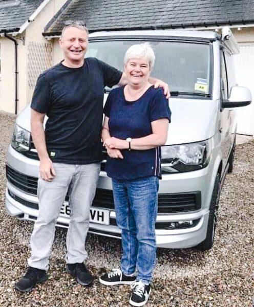 Alan and Karen Strachan Murray VW 2020